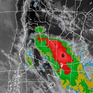 Alerta meteorológica por probables tormentas fuertes en Santa Fe y zona