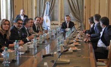 La UCR se reunió con Mauricio Macri