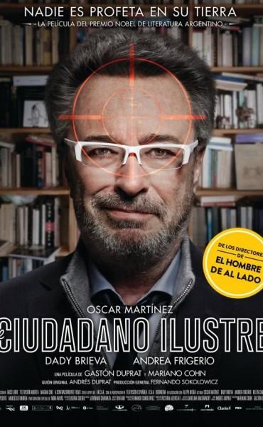 La película El ciudadano ilustre es candidata al Premio Goya