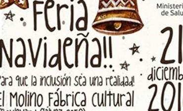 Feria navideña inclusiva en el Molino Fábrica Cultural