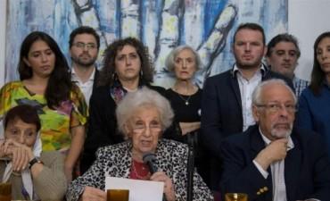 Organismos de derechos humanos pidieron al gobierno el cese de la represión