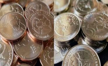 En enero comenzarán a circular las nuevas monedas