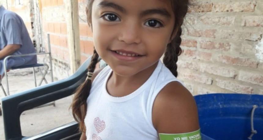Más del 90 % de niños recibieron la vacuna contra el sarampión y rubéola en Santa Fe