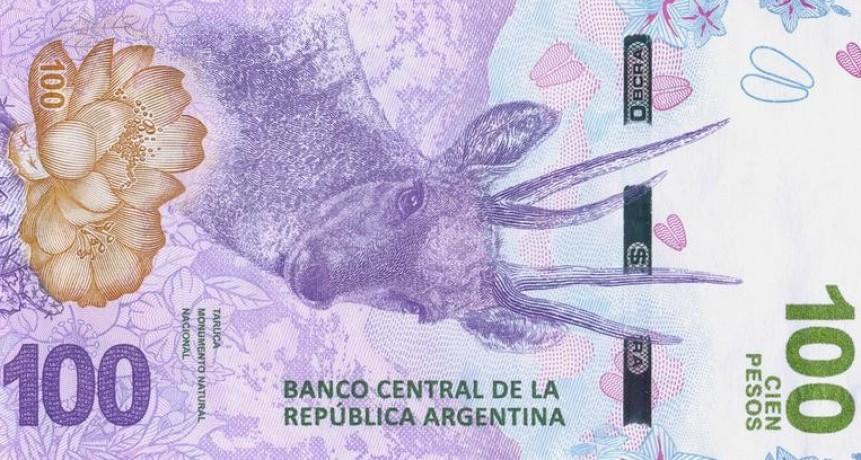 El Central presentó un nuevo billete de $ 100 y monedas de 2 y 10 pesos
