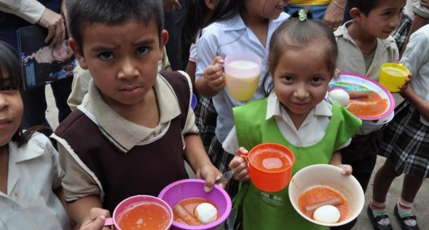 Más de un millón y medio de chicos padecen hambre en Argentina