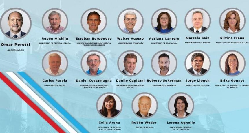 El gabinete de Omar Perotti tendrá 12 ministerios